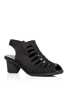 Arche - Women's Enexor Slingback Mid-Heel Sandals