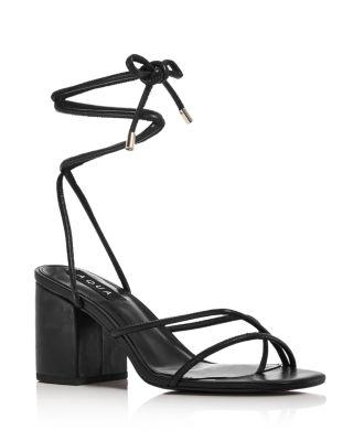 SODA WEEKEND Women/'s Heels Black Classic Ankle Strap Sandals Dress Shoes