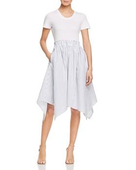 259a0ba425 DKNY - Handkerchief-Hem Combo Dress ...