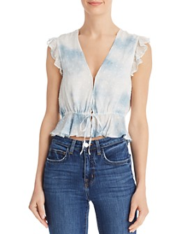 Rahi - Malibu Ruffled Tie-Dyed Top - 100% Exclusive