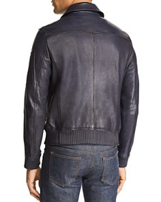 Michael Kors - Piped Leather Flight Jacket - 100% Exclusive