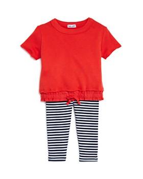 229dc0dc1211 Splendid - Girls' Knit Top & Striped Leggings Set - Baby ...