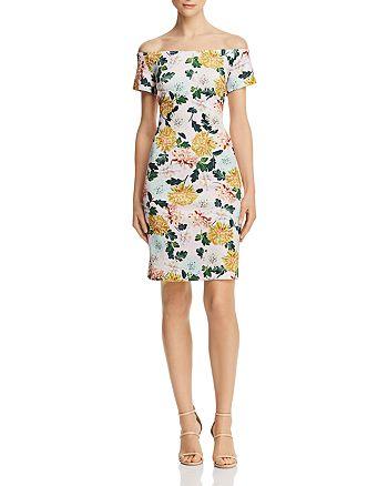 Sam Edelman - Off-the-Shoulder Floral Dress