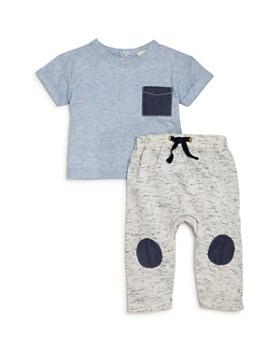 Miniclasix - Boys' Heathered Tee & Pants Set - Baby