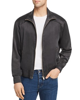 IRO - Satin Zip-Front Bubble Jacket