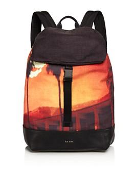 Paul Smith - Men's Pauls Sunset Photo Print Backpack