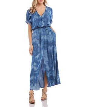 0de490233a6c Karen Kane - Tie-Dyed Maxi Dress ...
