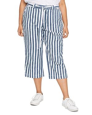 Sanctuary Curve Sasha Striped Cropped Pants