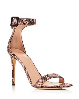 Giuseppe Zanotti - Women's Snake Print High-Heel Sandals