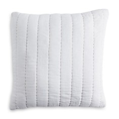 "DKNY - PURE Quilted Voile Decorative Pillow, 18"" x 18"""