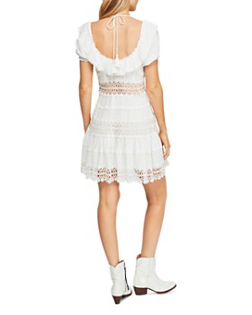 Free People - Cruel Intentions Ruffle Mini Dress
