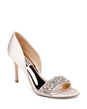 Badgley Mischka - Women's Ivy Crystal High-Heel Sandals