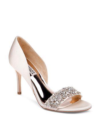 Badgley Mischka - Women's Ivy Crystal High-Heel Sandals