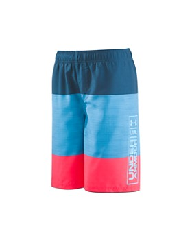 Under Armour - Boys' Color-Block Volley Shorts - Little Kid