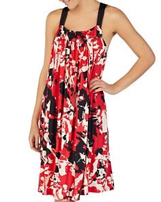 Donna Karan - Printed Jersey Nightgown