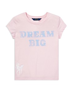 Ralph Lauren - Girls' Jersey Graphic Tee - Big Kid