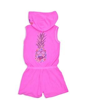 Butter - Girls' Pineapple Hooded Romper - Little Kid, Big Kid