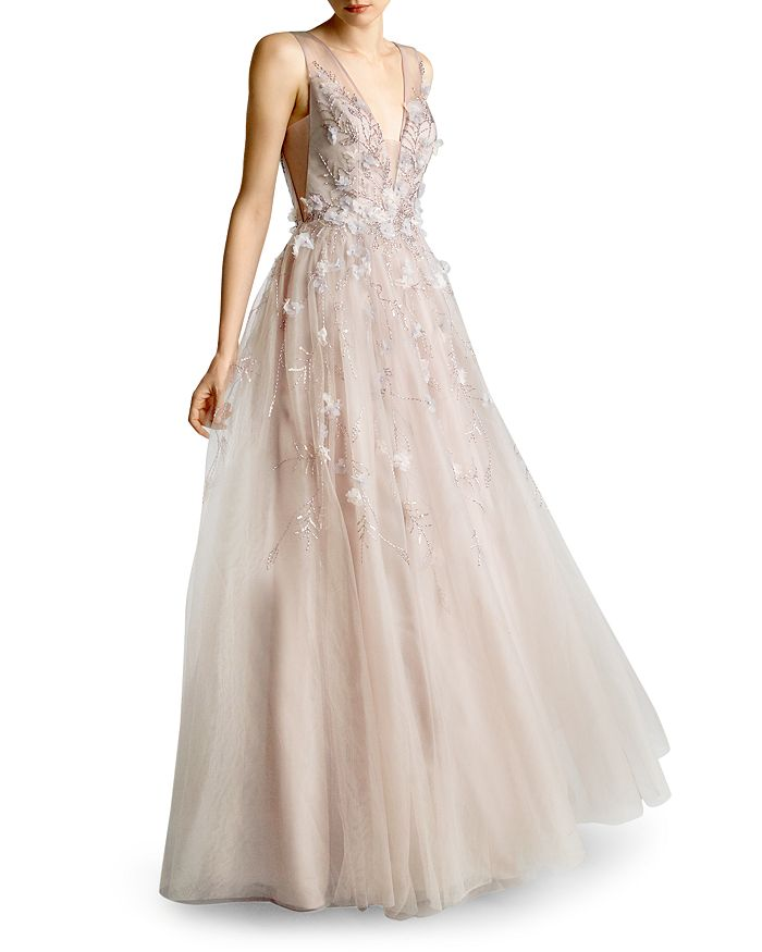 Basix - Embellished Tulle Ball Gown