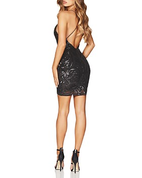 Nookie - Sensation Sequined Mini Dress