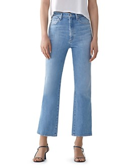 AGOLDE - Pinch Waist Kick Jeans in Divide