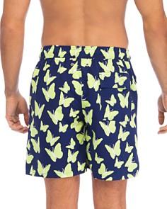 TOM & TEDDY - Butterfly-Print Swim Trunks