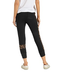 n:philanthropy - Rosemary Leopard-Stripe Jogger Pants