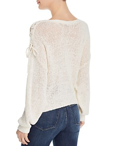 Joie - Rhetta Lace-Up-Detail Sweater
