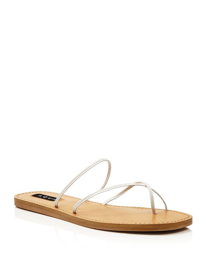 AQUA - Women's Zeus Strappy Sandals - 100% Exclusive