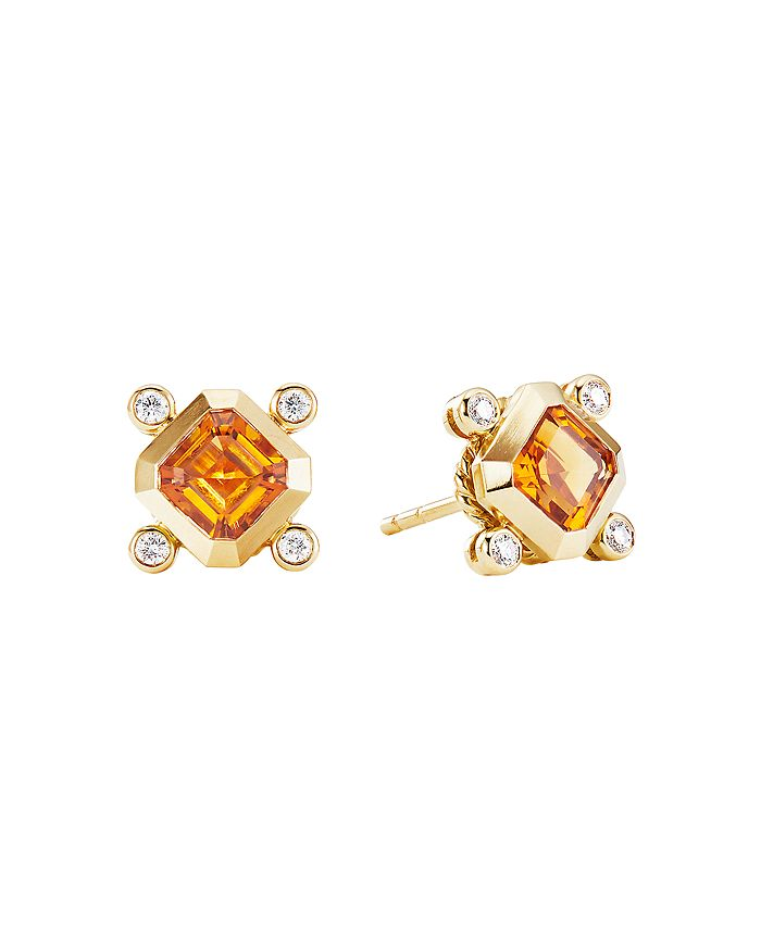 David Yurman - Novella Stud Earrings in 18K Gold