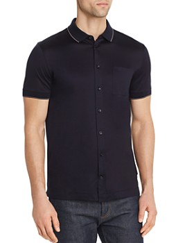34672e510 BOSS Hugo Boss - Puno Short-Sleeve Slim Fit Shirt