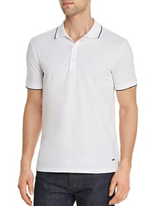 HUGO - Dinoso Tipped Regular Fit Polo Shirt