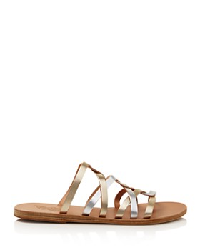 Ancient Greek Sandals - Women's Donousa Twisted Metallic Sandals