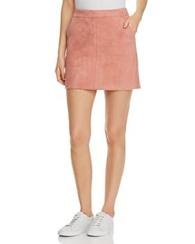 Vero Moda - Donna Faux Suede Mini Skirt