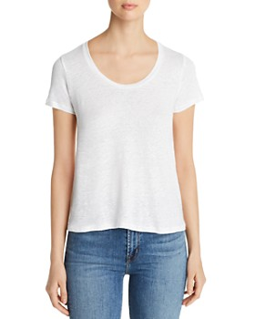 affc199e7 Majestic Filatures - Scoop Neck Tee ...
