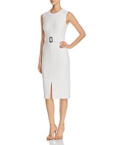 BOSS - Dadoria Belted Sheath Dress