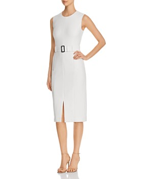BOSS - Dadoria Belted Sheath Dress