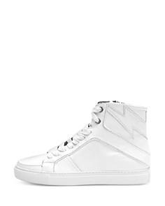 Zadig & Voltaire - Women's ZV1747 Flash High-Top Sneakers