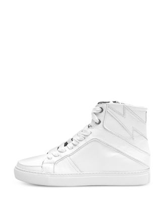 Women's Zv1747 Flash High Top Sneakers by Zadig & Voltaire