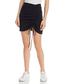 LNA - Cinched Mini Skirt