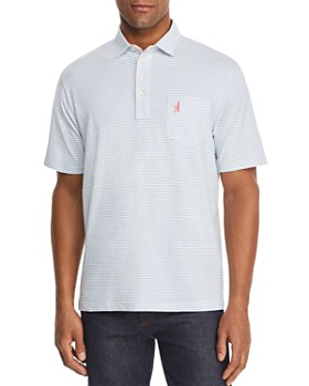 Johnnie-O - Cliffs Striped Regular Fit Polo Shirt