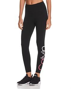 Calvin Klein - Ombré-Logo Leggings