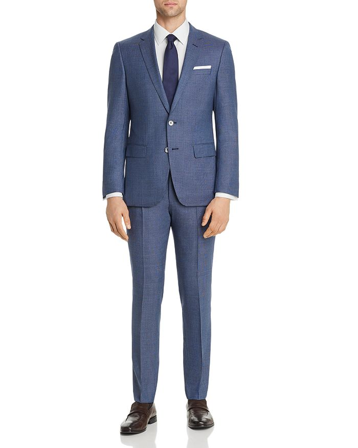 BOSS Hugo Boss - Hutson/Gander Textured Weave Slim Fit Suit