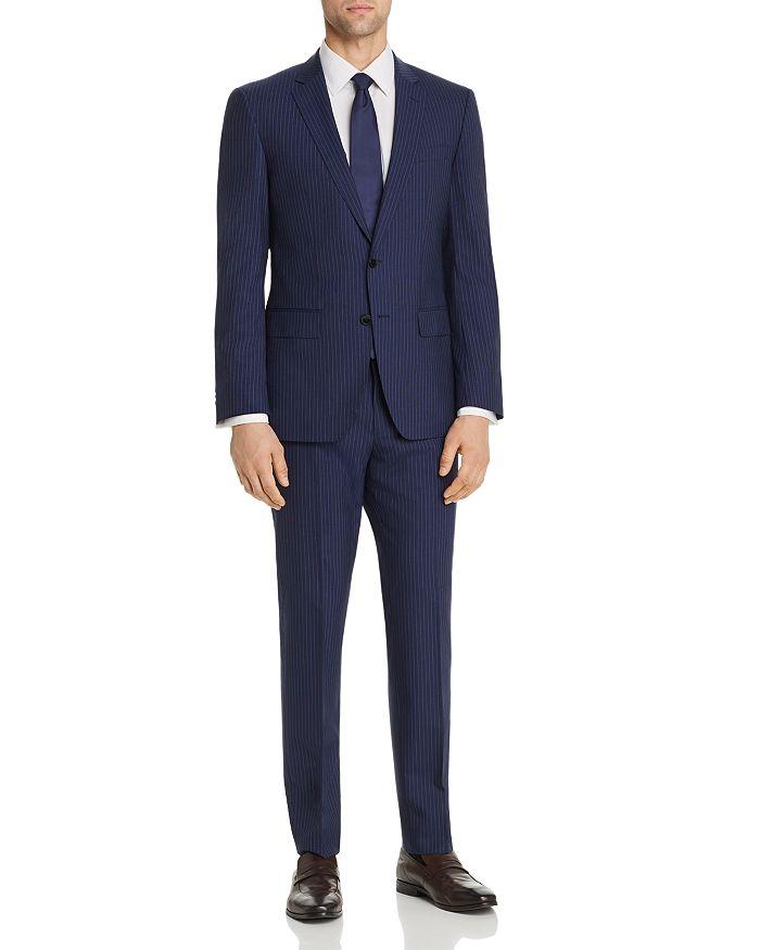 BOSS Hugo Boss - Huge/Genius Pinstripe Slim Fit Suit