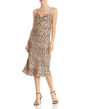 BARDOT | Bardot Leopard Print Slip Dress | Goxip
