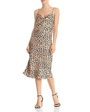 Bardot Dresses LEOPARD PRINT SLIP DRESS