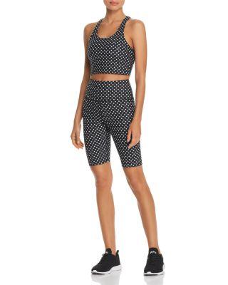 Polka Dot Bike Shorts - 100% Exclusive