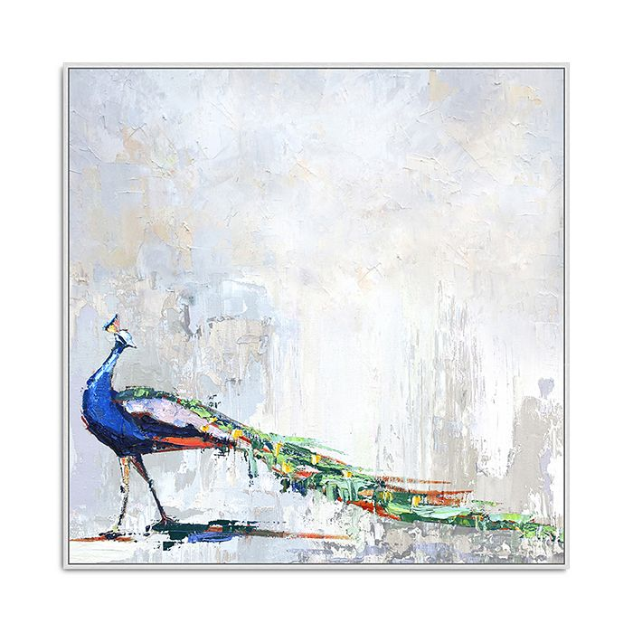 Bloomingdale's Artisan Collection - Strut of a Peacock Wall Art