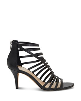 VINCE CAMUTO - Women's Petronia High-Heel Cage Sandals
