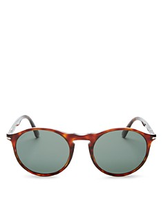 Persol - Men's Polarized Round Sunglasses, 54mm