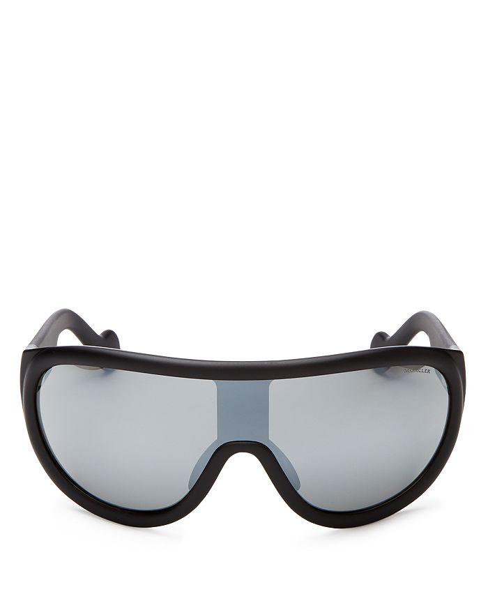 Moncler - Men's Mirrored Shield Sunglasses, 156mm